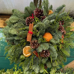 Festive Orange Fruit Ball | Marl Pits Garden Centre