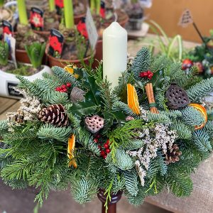 Large Table Decoration | Marl Pits Garden Centre