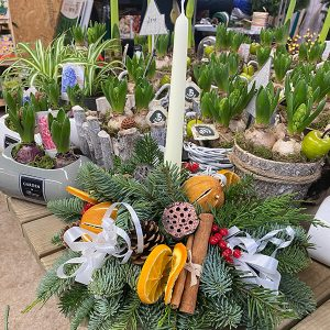 Small Table Decoration | Marl Pits Garden Centre